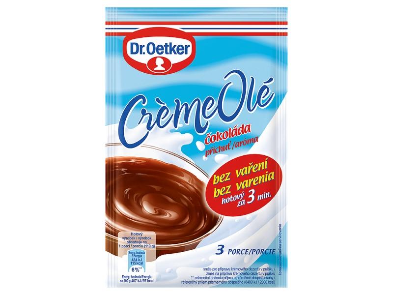 VÝPRODEJ Dr. Oetker Créme Olé čokoláda 56g