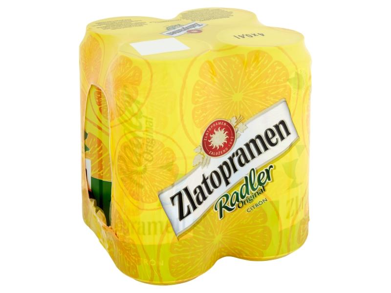 Zlatopramen Radler Citron 4x0,4l