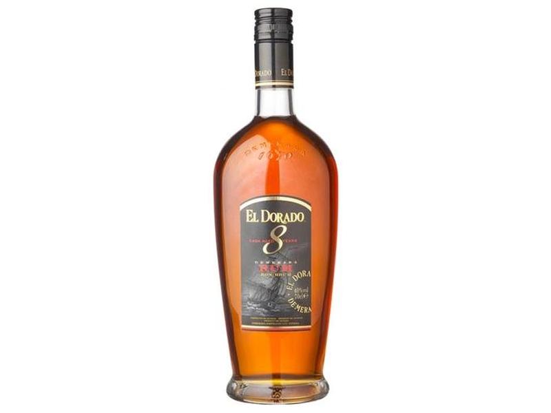 El Dorado 8yo Rum 40% 700ml, krabice