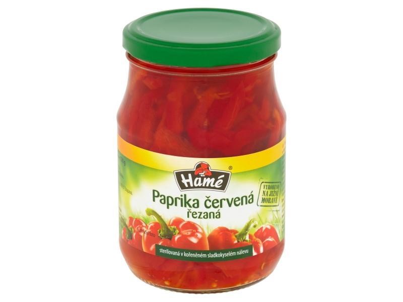 Hamé Paprika červená řezaná 340g