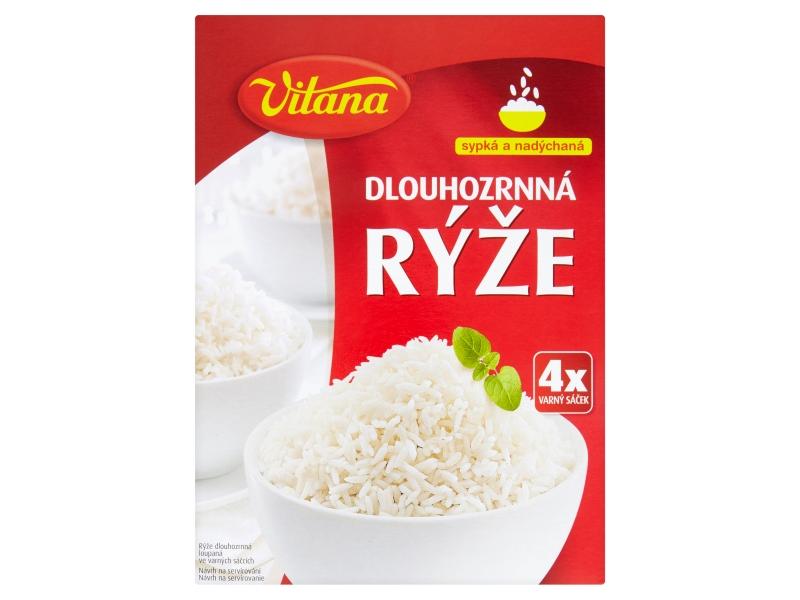 Vitana Rýže dlouhozrnná varné sáčky 400g