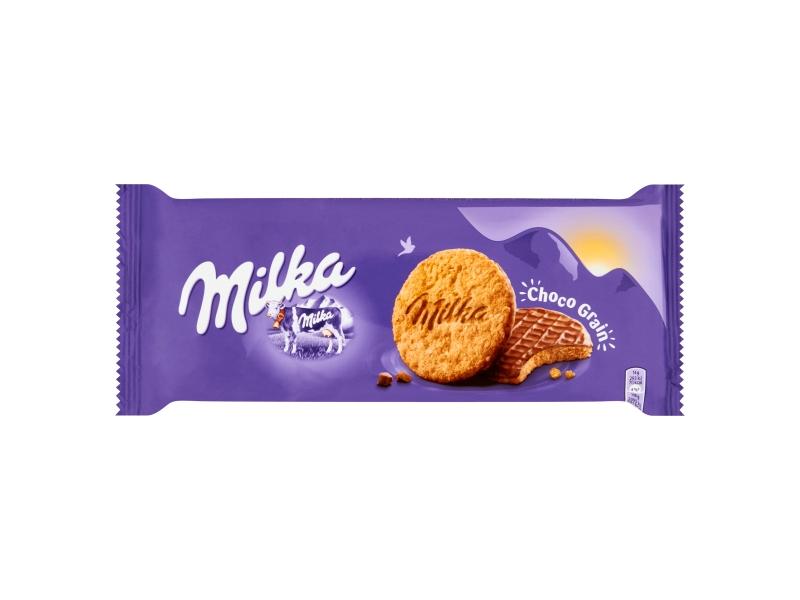 Milka Choco Grains Sušenky s ovesnými vločkami 126g