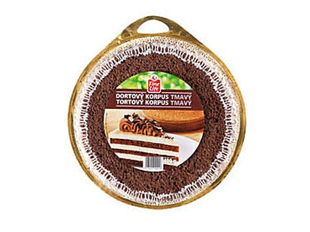 Fine Life Korpus dortový tmavý 400g