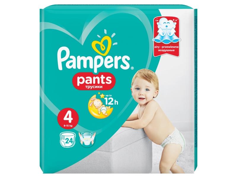Pampers Plenkové kalhotky Pants Maxi S4 24ks