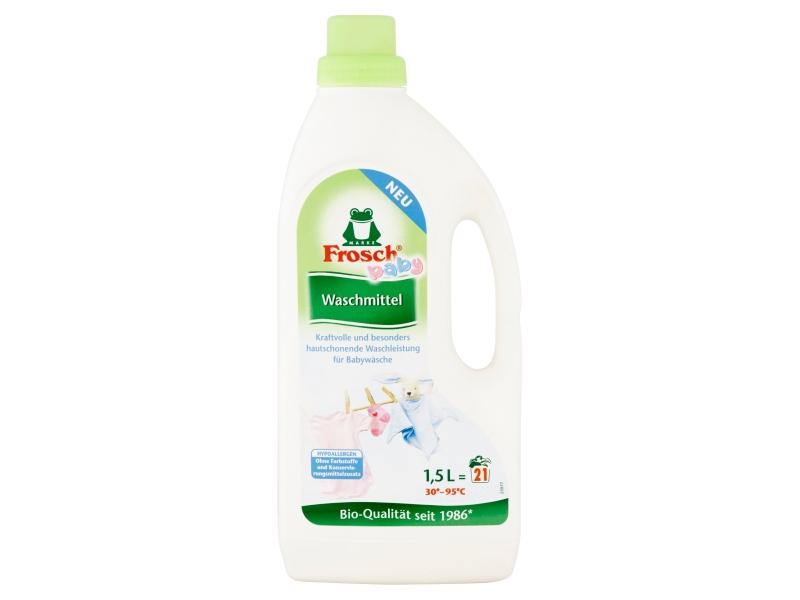Frosch Eko hypoalergenní prací prostředek na kojenecké prádlo 21 praní 1,5l