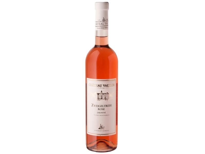 Château Valtice Zweigeltrebe rosé jakostní víno růžové polosuché 0,75l