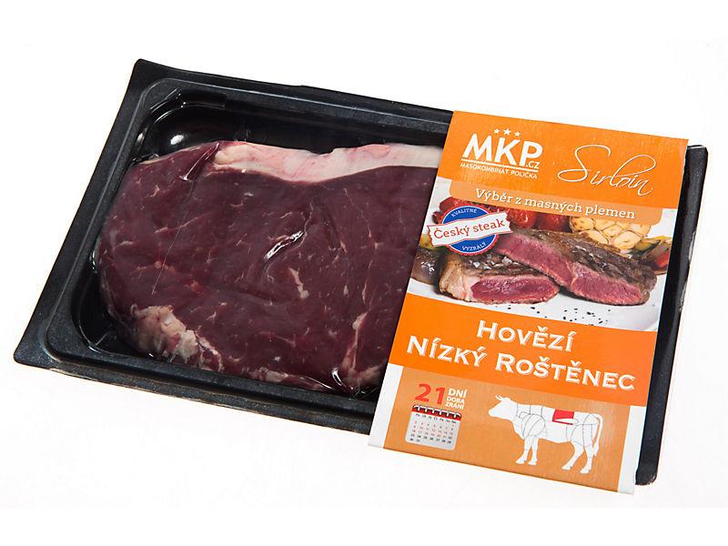 MKP Hovězí nízká roštěná - vyzrálá porce cca 300g
