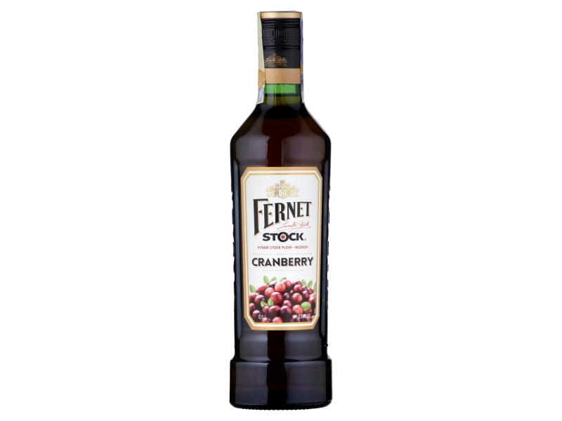 Fernet Stock Cranberry 27% 500ml