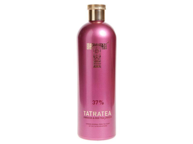 Tatratea Tatranský čaj Ibišek a Červený čaj 37% 700ml