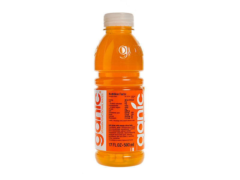 Ganic voda vitamin. Mango/Citric 500ml