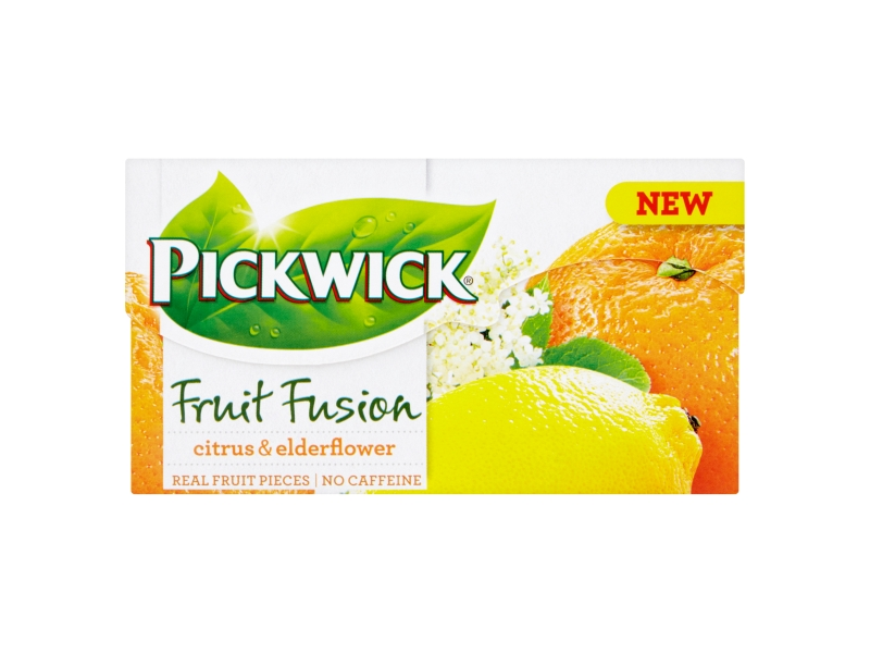 Pickwick Fruit Fusion Citrus & Elderflower, 20x2g