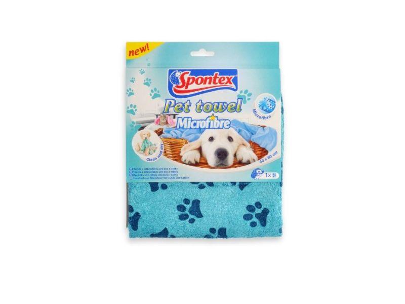 Spontex Pet Towel Mikroutěrka 1ks