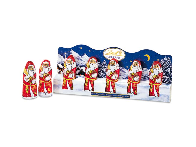 Lindt Mini Santa figurky 5x10g