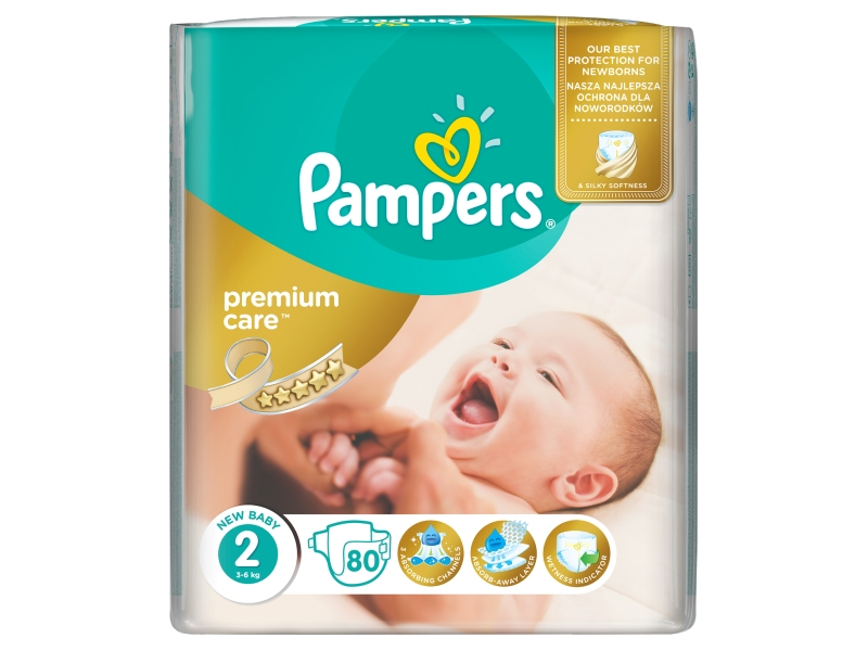 Pampers Premium value pleny S2 80ks