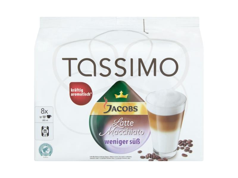 Tassimo Latte Macchiato méně cukru 236g kapsle