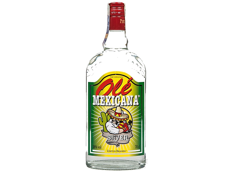 Mexicana Ole Silver tequila 38% 700ml