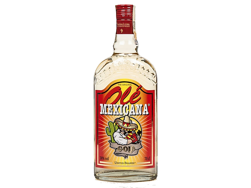 Mexicana Ole Gold tequila 38% 700ml