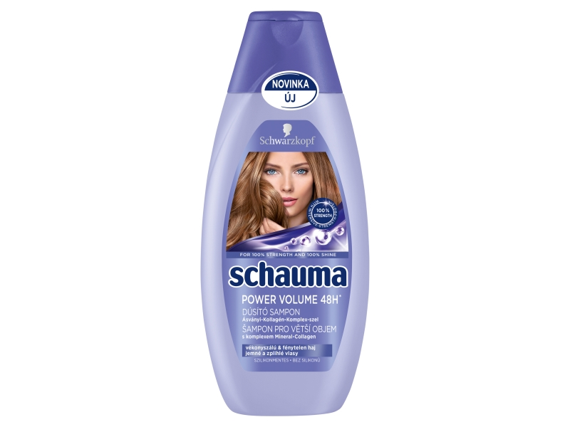 Schauma Power Volume 48H Šampon 400ml