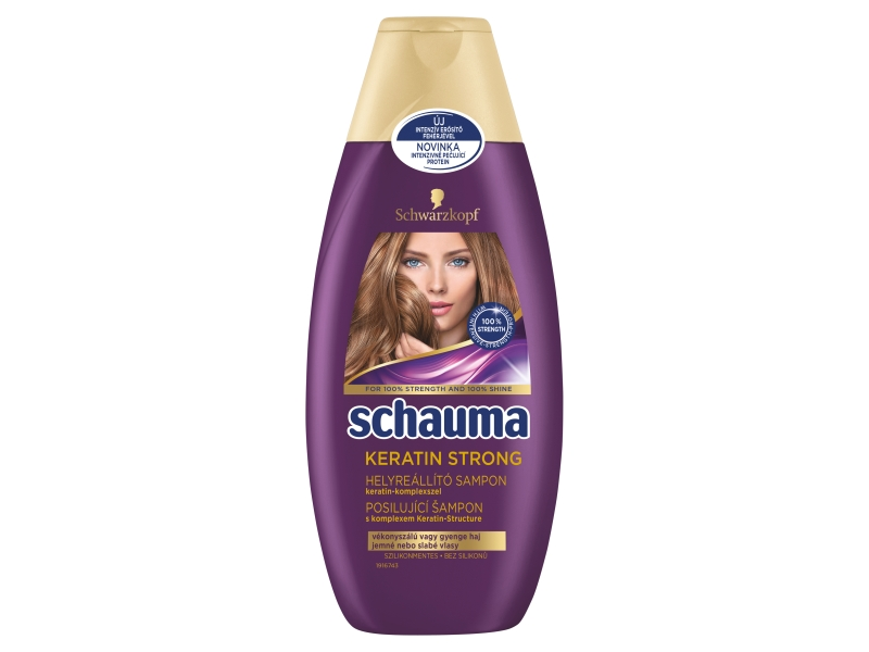 Schauma Keratin Strong šampon 400ml