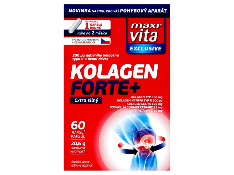 MaxiVita Exclusive Kolagen Forte+ 60ks