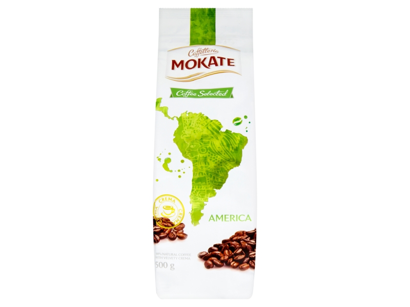 Mokate Coffee Selected America zrnková 500g