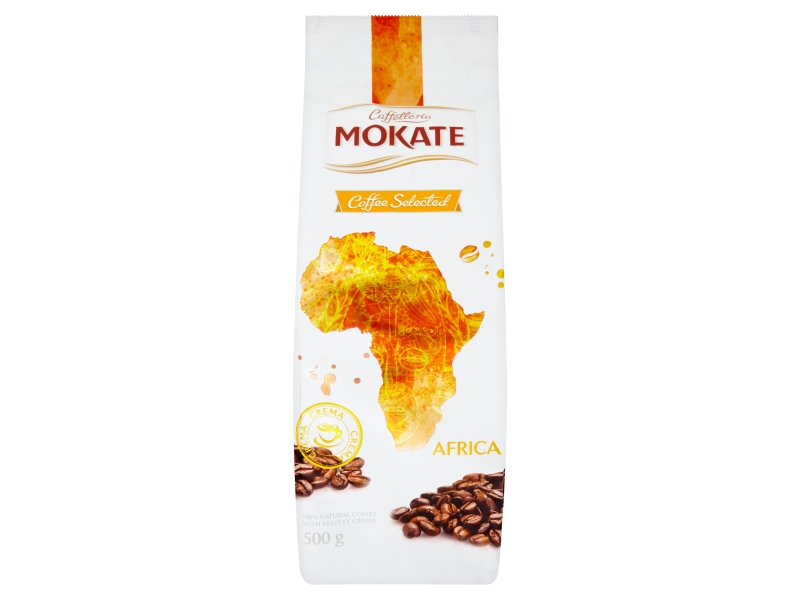 Mokate Coffee Selected Africa zrnková 500g