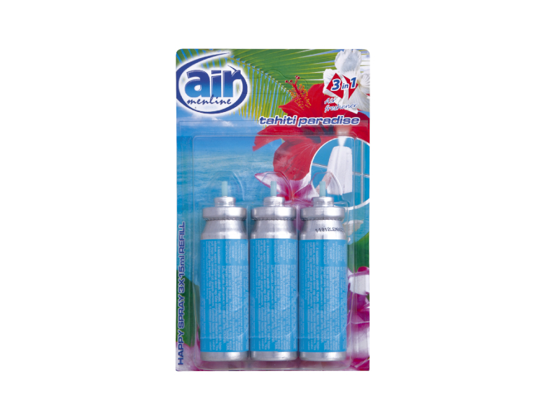 Air Spray Náplň do osvěžovače Tahiti 3x15ml