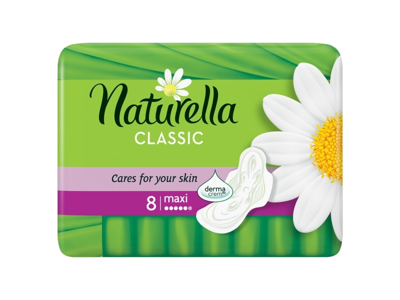 Naturella Classic Camomile Maxi Hygienické Vložky 8ks