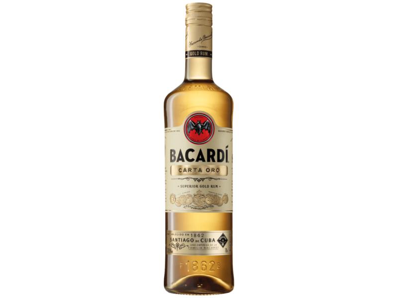 Bacardi Carta Oro rum 37,5% 1l