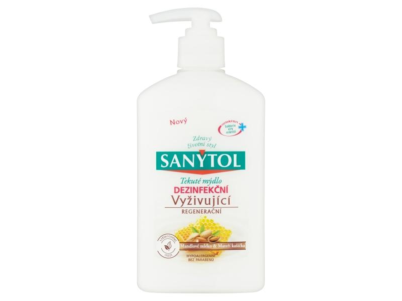 Sanytol mýdlo tekuté dezinfekční výživné 250ml