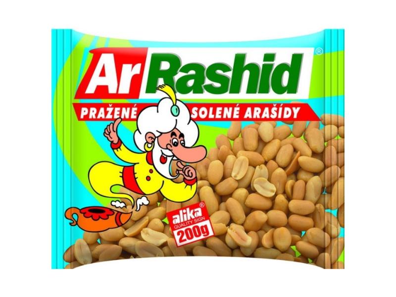 Ar. Rashid Arašídy pražené solené 200g