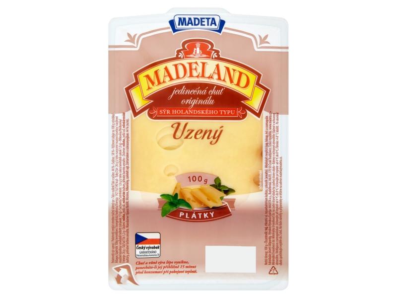 Madeta Madeland uzený plátky 100g