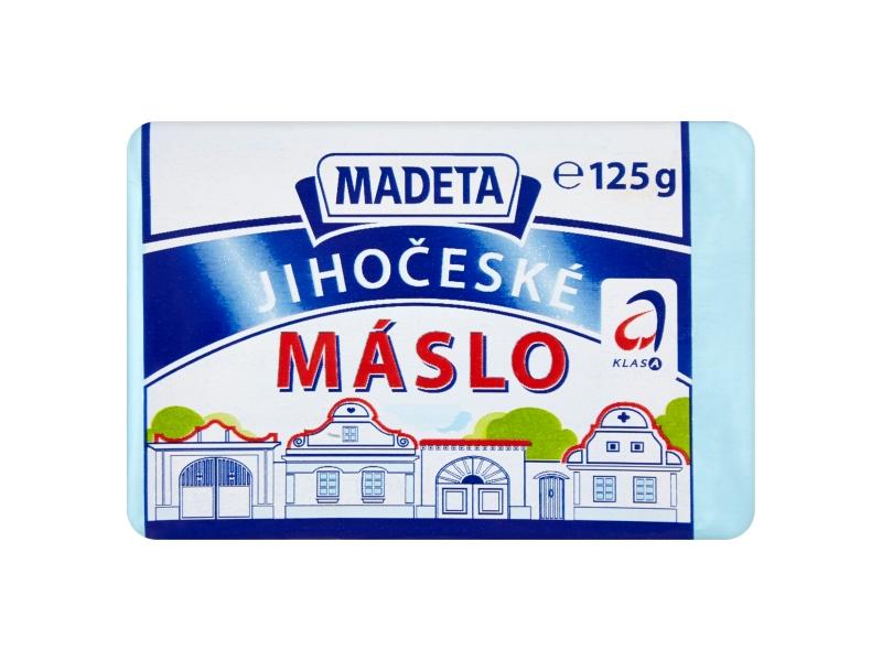 Madeta Jihočeské máslo 125g, malé balení