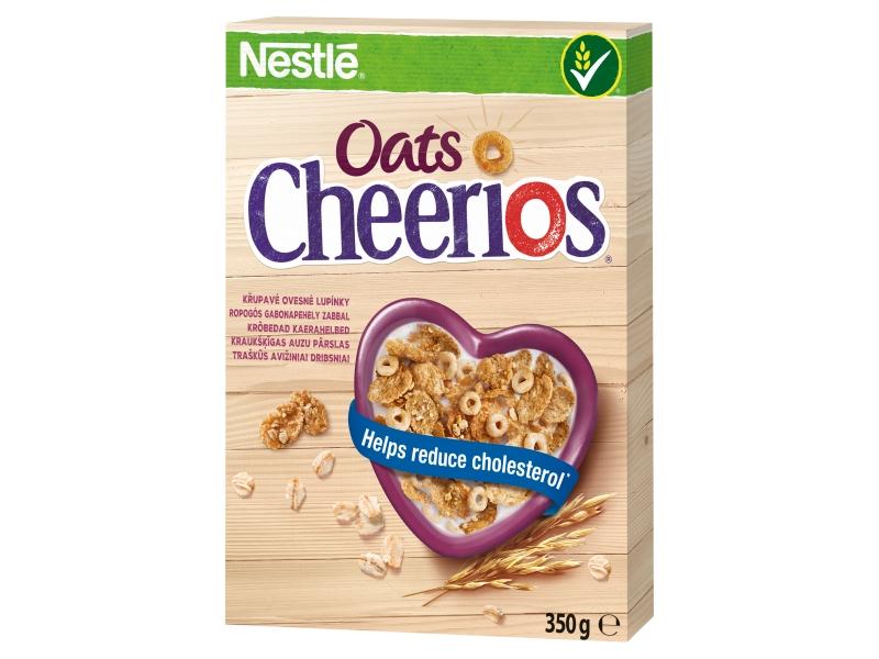 Nestlé Cheerios Oats Cereal ovesné cereálie 350g