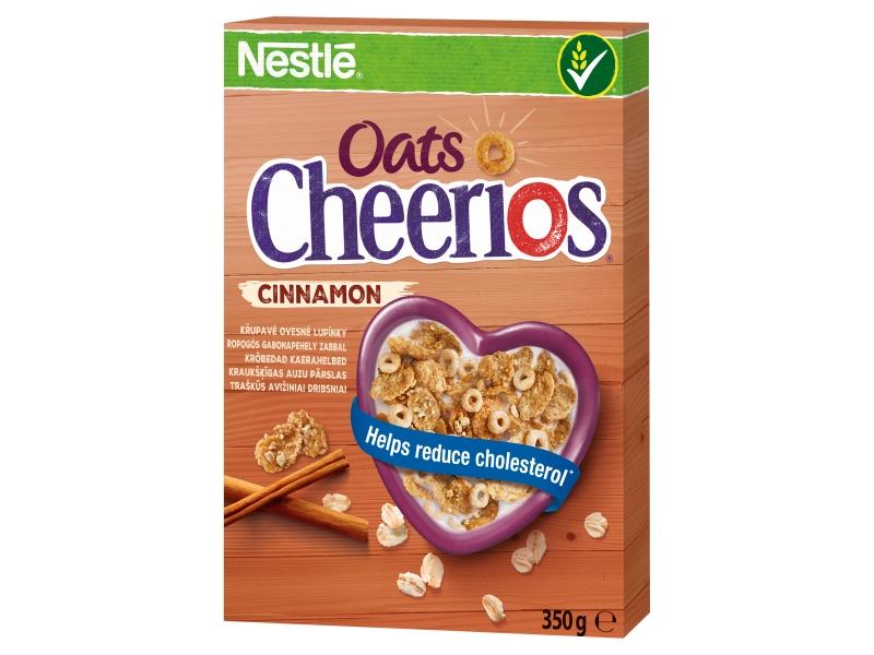 Nestlé Cheerios Oats Cinnamon ovesné cereálie skořicové 350g