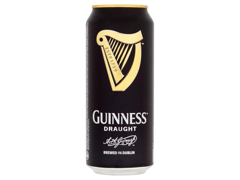 Guinness Stout Draught pivo 4x440ml plech