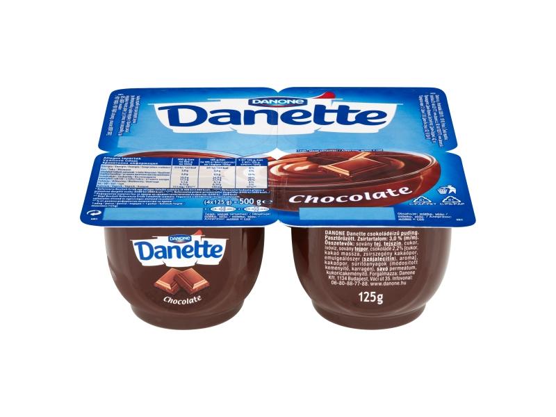 Danone Danette Mléčný dezert čokoládový 4x125g