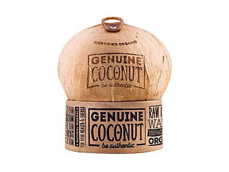 Genuine Coconut Kokosový ořech 500g+ 1ks