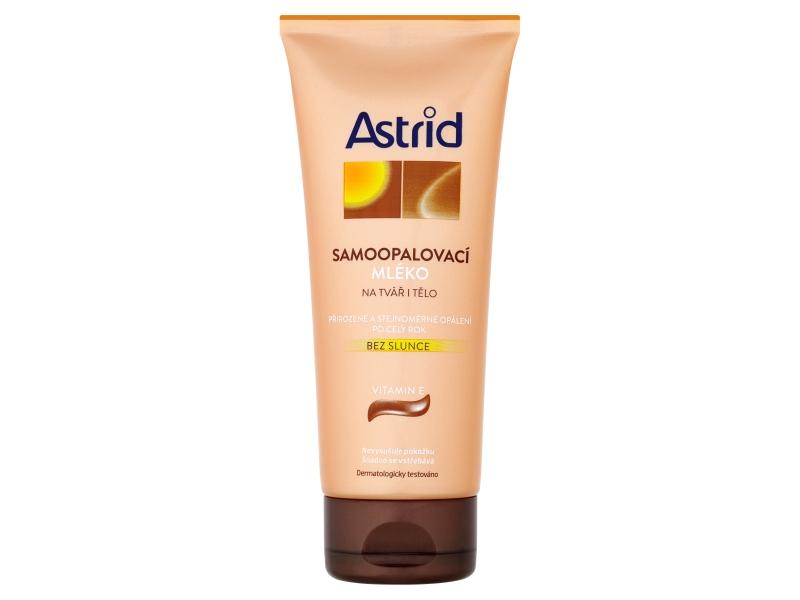 Astrid Samoopalovací mléko na tvář i tělo 200ml