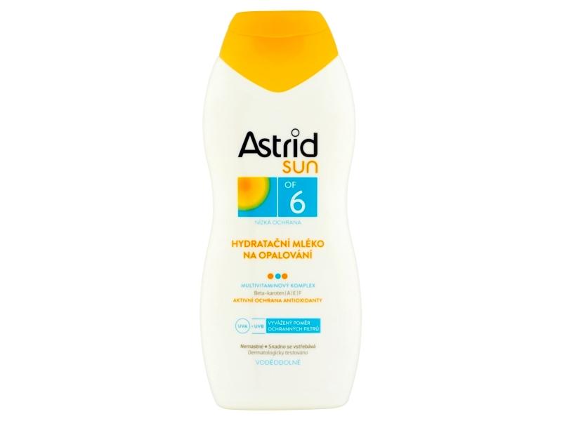 Astrid Hydratační mléko na opalování OF 6 200ml