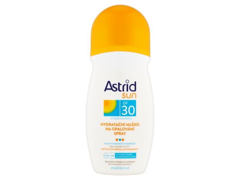 Astrid Hydratační mléko na opalování spray OF 30 200ml