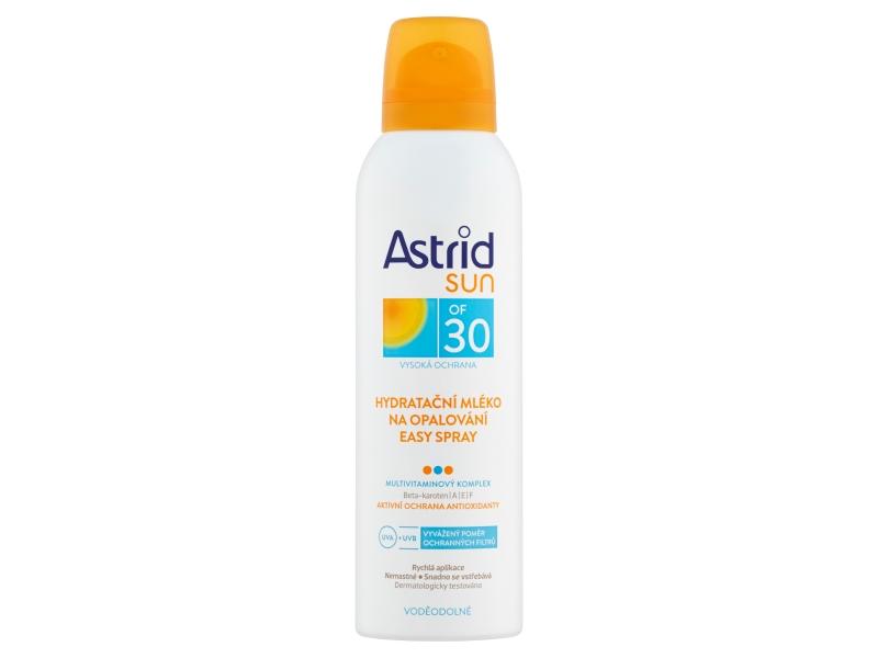 Astrid Hydratační mléko na opalování spray OF 30 150ml