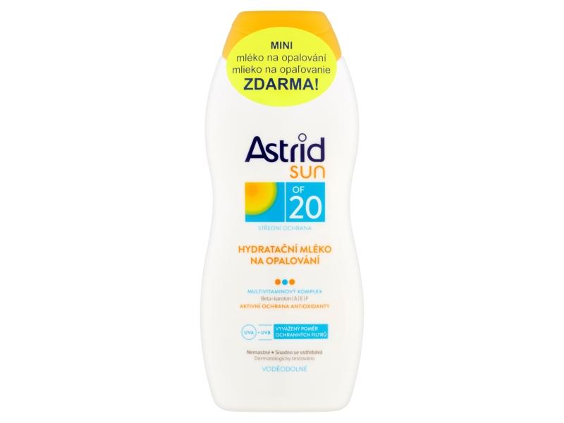 Astrid Hydratační mléko na opalování OF 20 400ml + Mléko po opalování 200ml