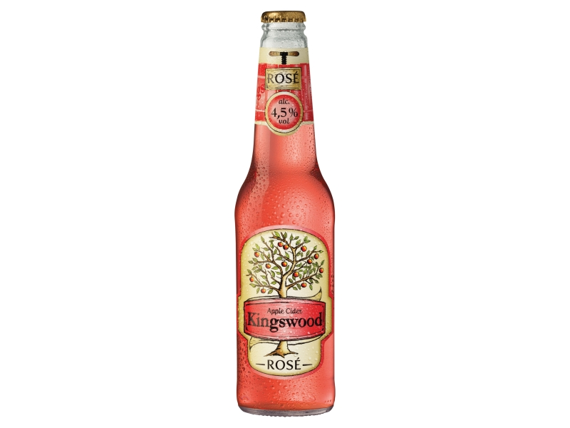 Kingswood Apple cider rosé 400ml