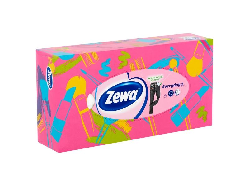 Zewa Everyday Papírové kapesníky 2-vrstvé box 100ks