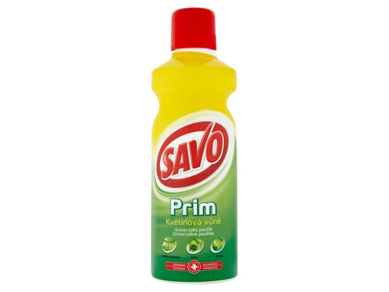 Savo Prim Květinová vůně dezinfekční přípravek 1l