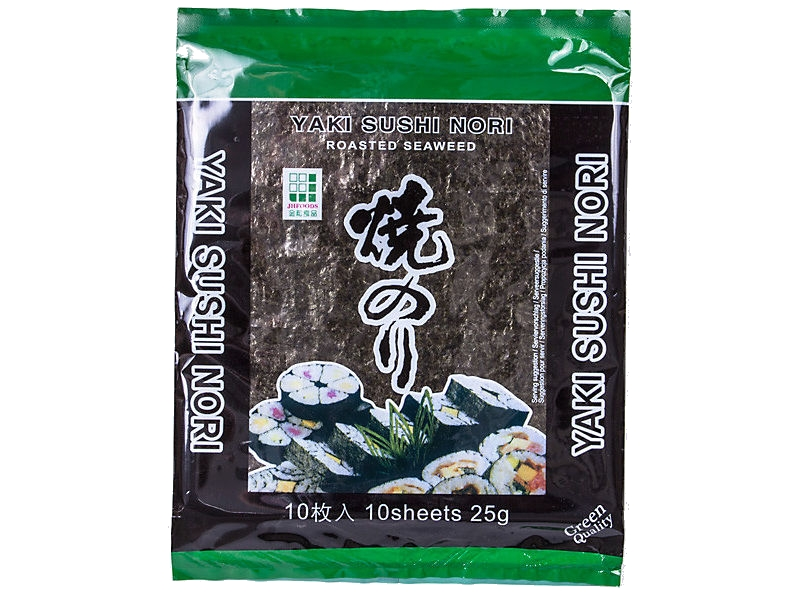 Seaweed nori sheets Mořská řasa 10ks 25g