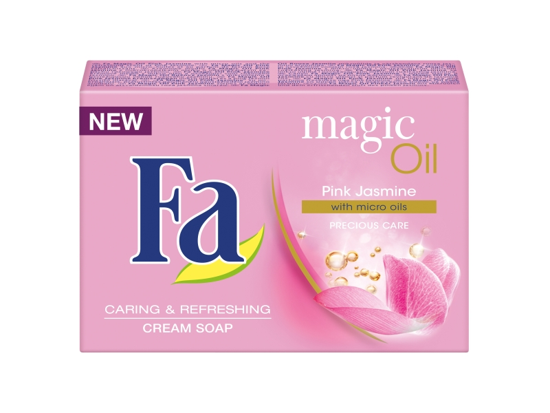 Fa Magic oil pink jasmine scent krémové mýdlo s mikro oleji 90g