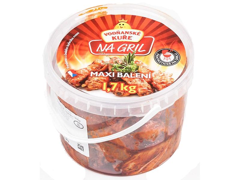 Vodňanské Kuře Kuřecí letní mix barbecue 1,7kg