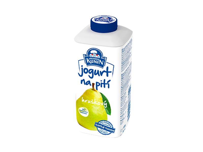 Kunín Jogurt na pití hruškový 300g